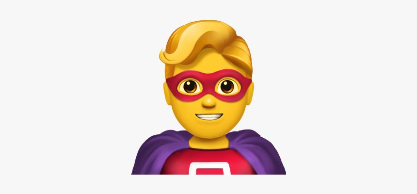 Superhero Emoji, HD Png Download, Free Download