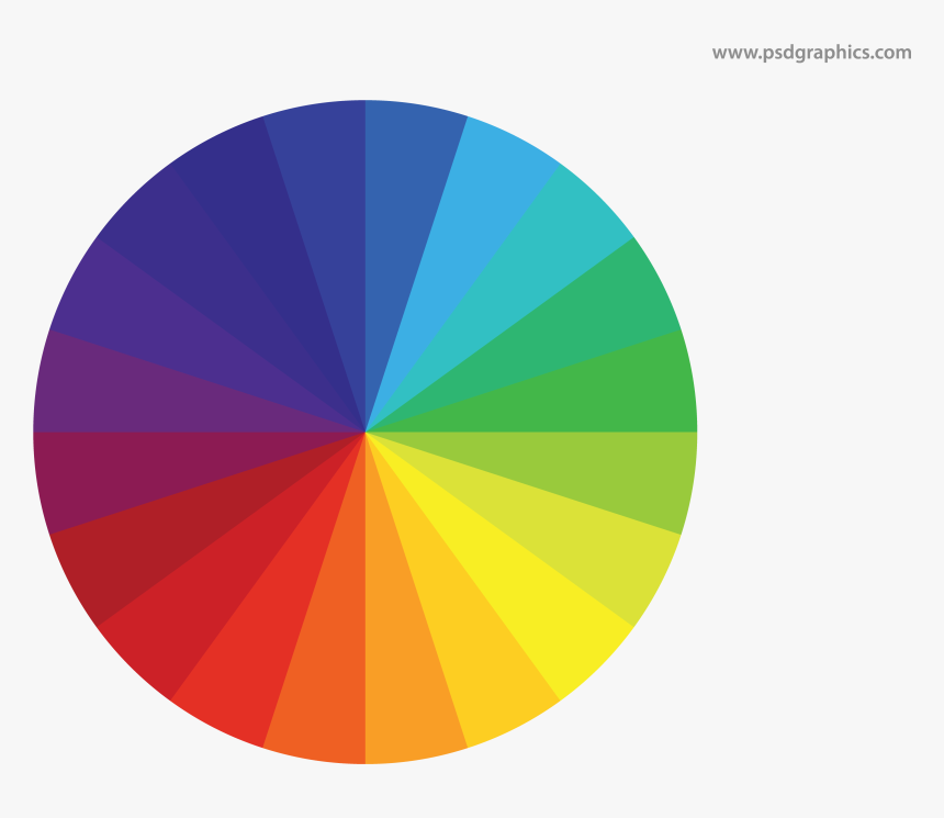 Png Royalty Free Stock Color Wheel Vector - Vector Color Wheel Png, Transparent Png, Free Download