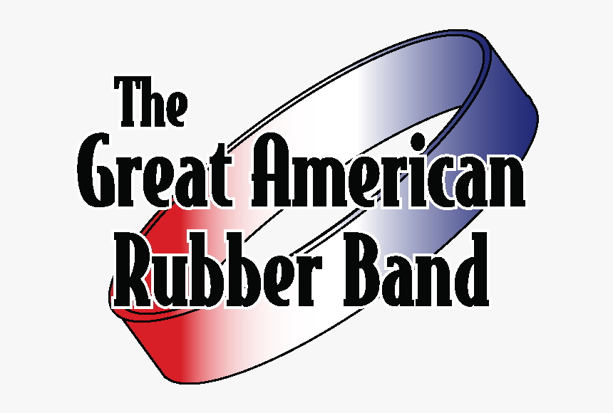 The Great American Rubber Band - Graphic Design, HD Png Download, Free Download