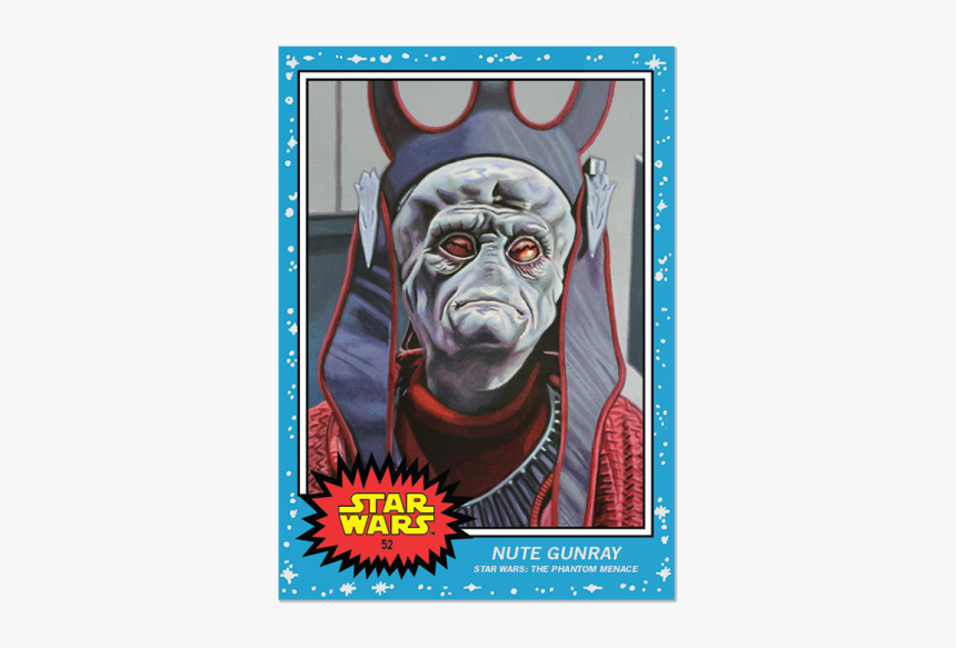 Sw Living Set Card - Star Wars 9 Topps Cards, HD Png Download, Free Download