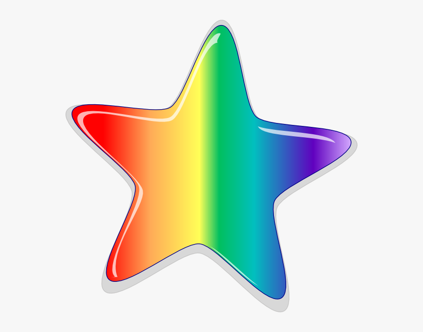 Rainbow Stars Clipart, HD Png Download, Free Download