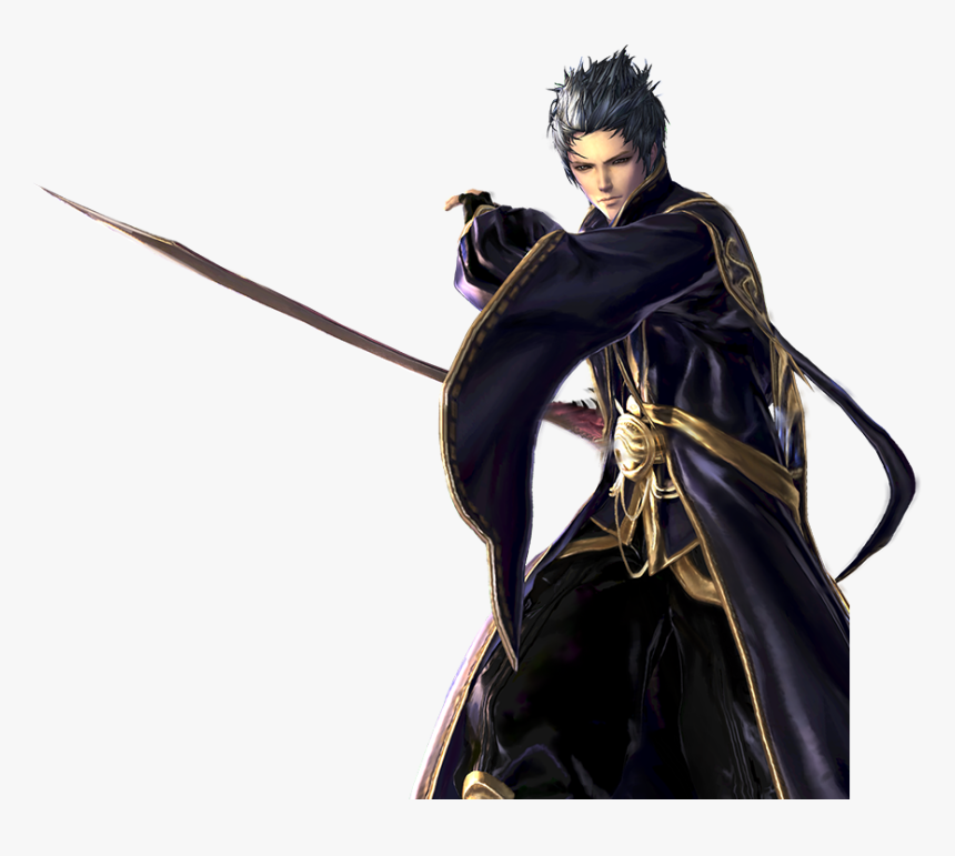 Bns Vn Blade Master Kiem Su Close - Blade And Soul Blade Master Png, Transparent Png, Free Download