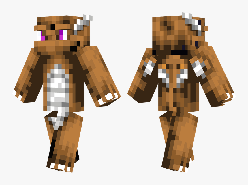 Minecraft Dragon Skin, HD Png Download, Free Download
