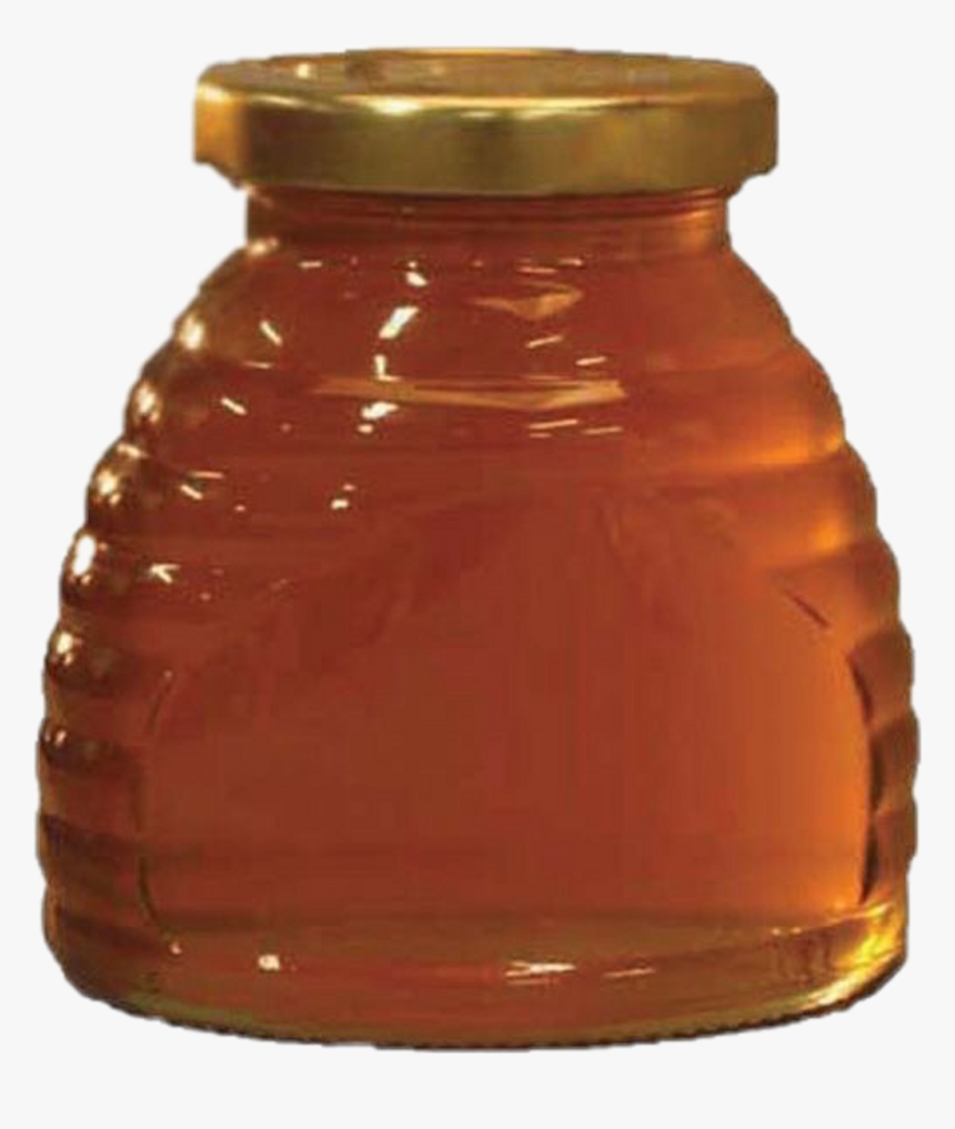 #honeypng #yellow #orange #honey #aesthetic #png #vintage - Honey Jar, Transparent Png, Free Download