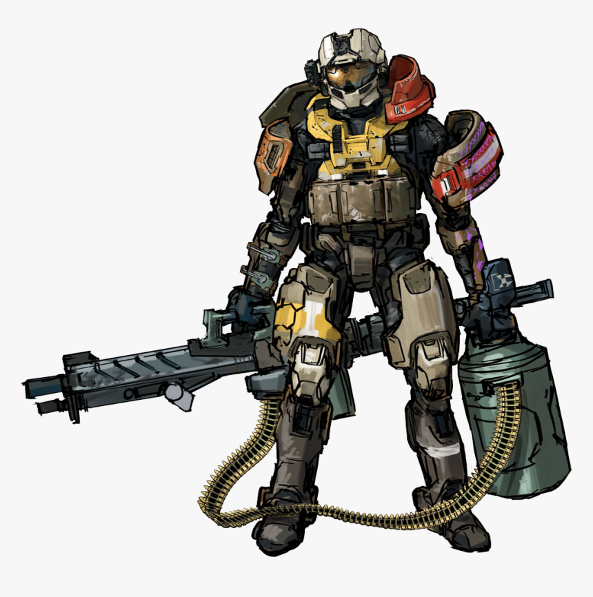 """Armor""""s I Wish Were In Halo - Concept Art Halo Spartan Armor, HD Png Download, Free Download"""