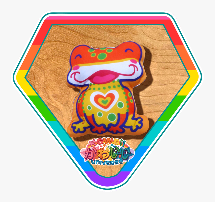 Rainbow Frog Png, Transparent Png, Free Download