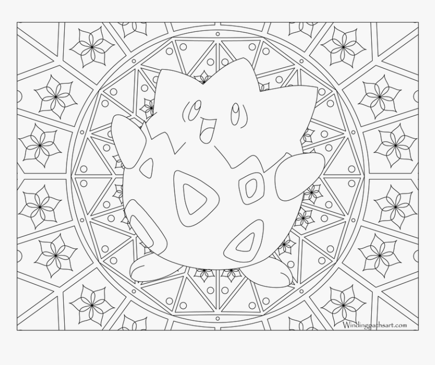 Pokemon Adult Coloring Pages, HD Png Download, Free Download