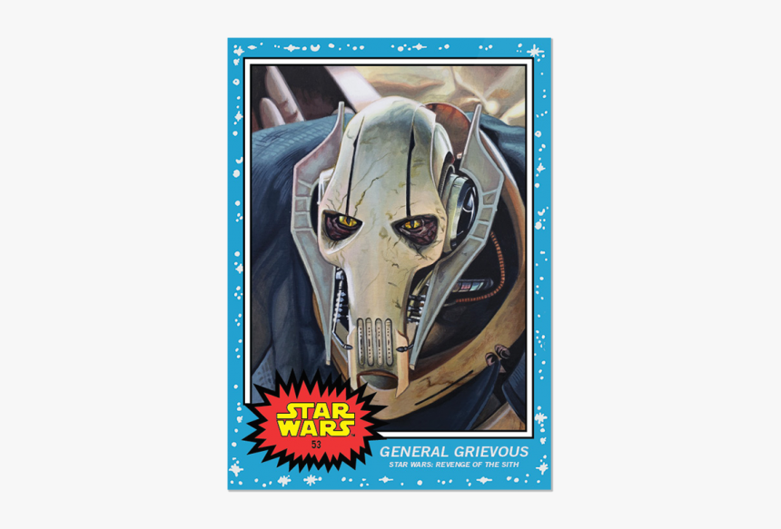 Sw Living Set Card - Star Wars 9 Topps, HD Png Download, Free Download