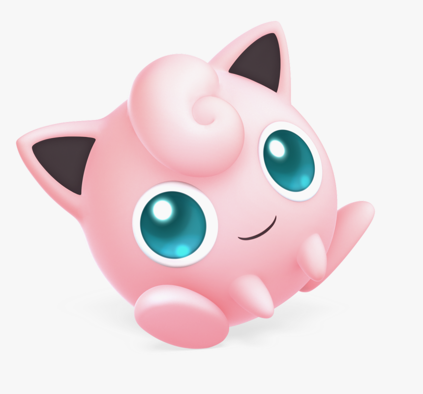 Super Smash Bros Ultimate Characters Jigglypuff, HD Png Download, Free Download