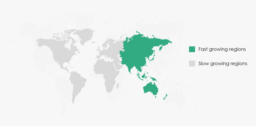 High Performance Electric Motorcycle Market Share By - World Map Png Transparent Dots, Png Download, Free Download