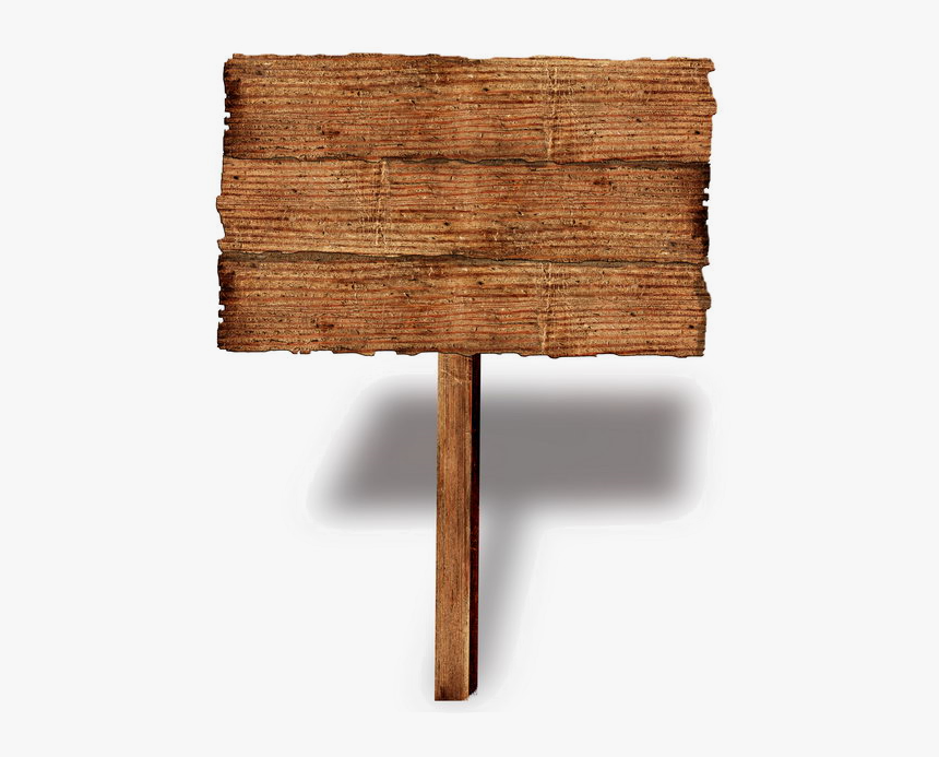 Wood Signs Png Download - Wood Sign Png, Transparent Png, Free Download