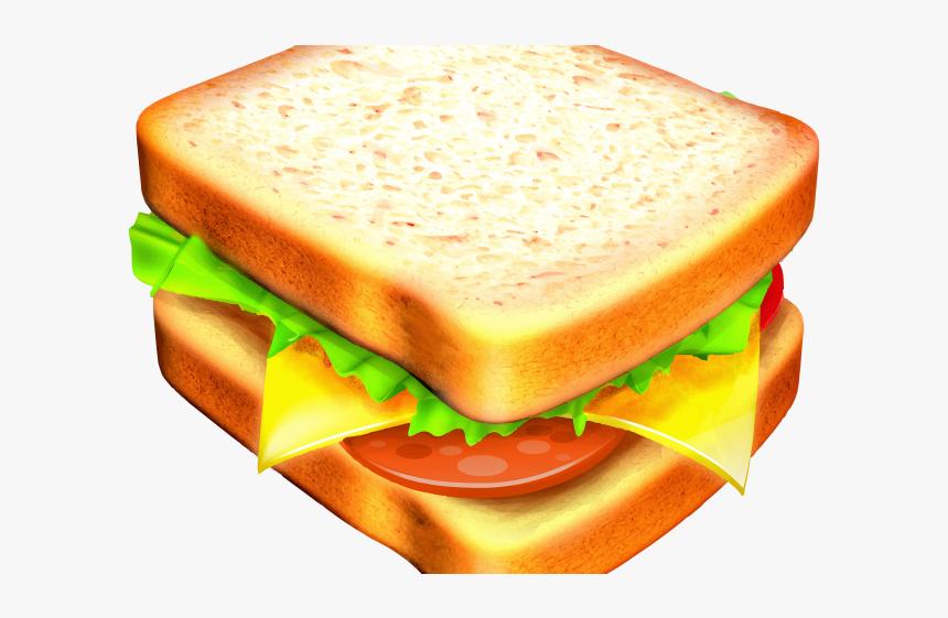 Breakfast Sandwich Cliparts - Ham And Cheese Sandwich ...