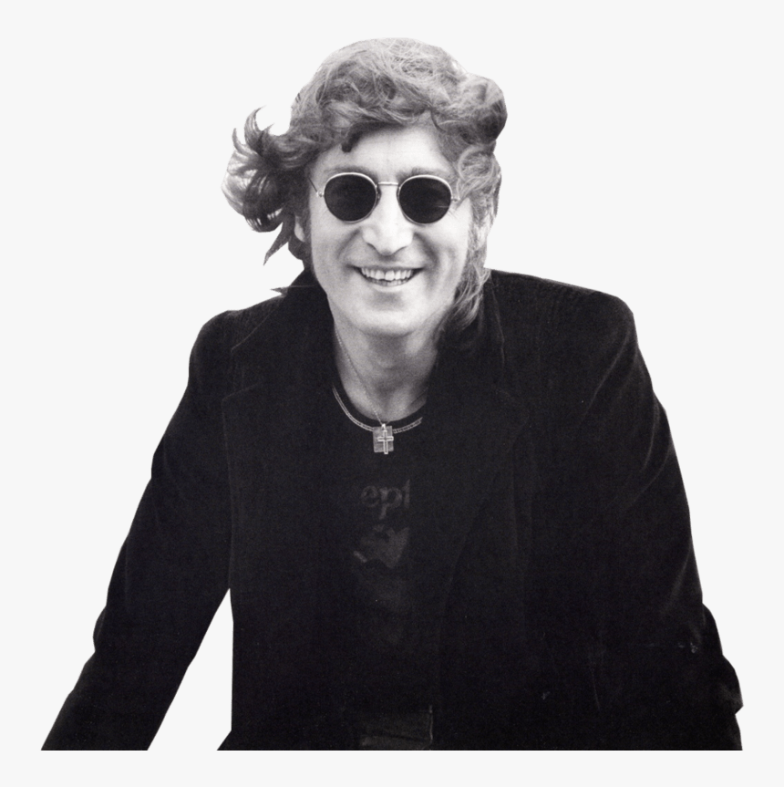 Young John Lennon , Png Download - Want To Be Happy When I Grow Up, Transparent Png, Free Download