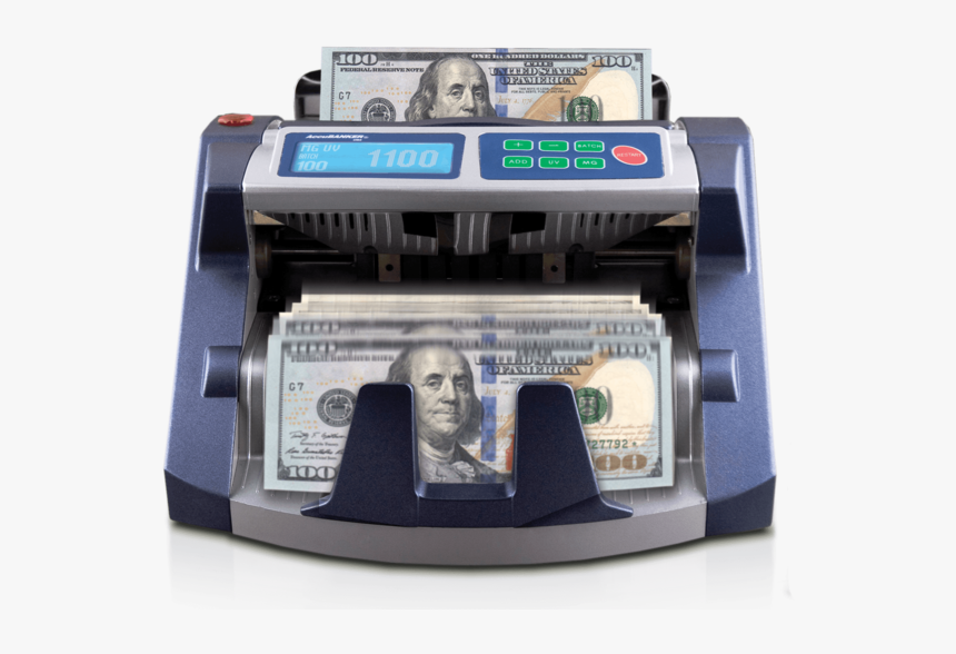 Accubanker Ab1100 Plus Retail Grade Bill Counter No - Accubanker Ab1100, HD Png Download, Free Download