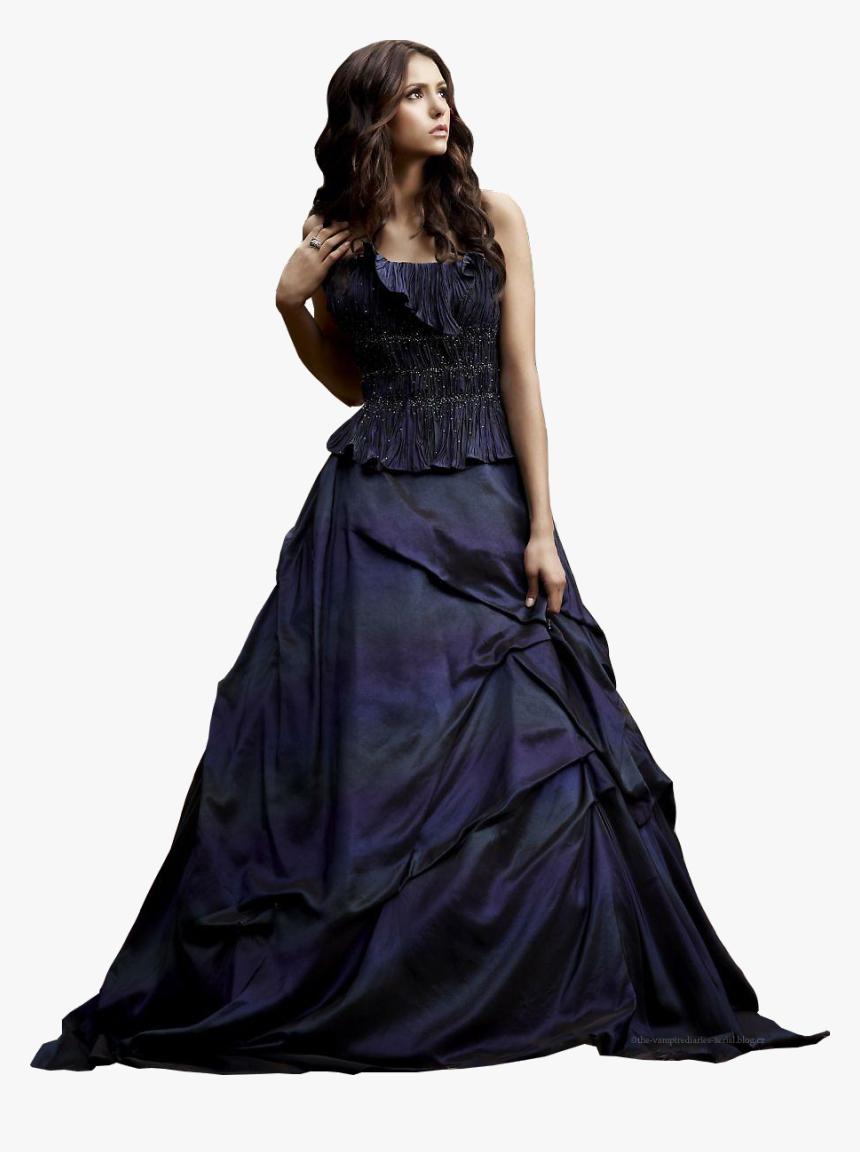 Katherine Pierce Blue Dress Hd Png Download Kindpng