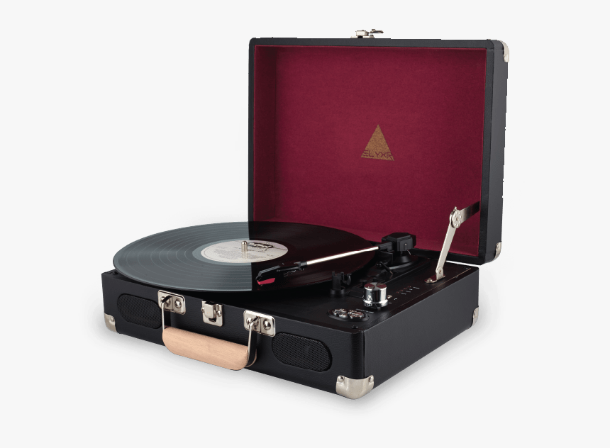 Vinyl Record Player Png - Vintage Record Player Transparent Background, Png Download, Free Download