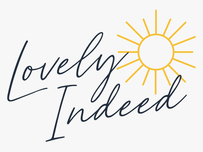 Lovely Indeed - Calligraphy, HD Png Download, Free Download