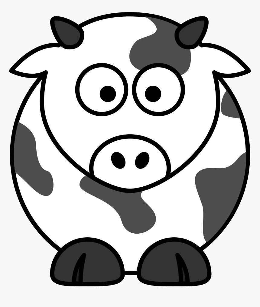 Net » Clip Art » Cow Black White Line Super Duper Svg - Simple Line Drawing  Of Cow, HD Png Download - kindpng