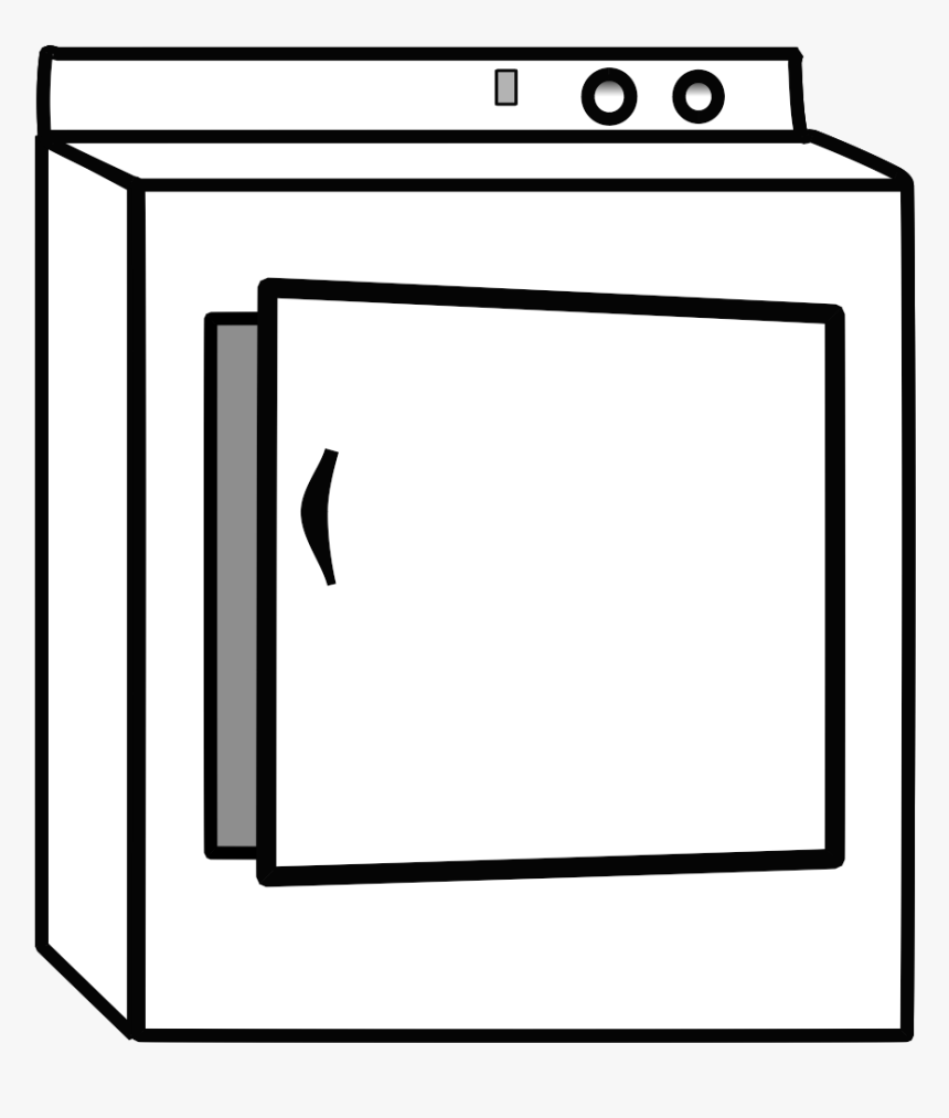 Clipart Of Dryer, HD Png Download, Free Download