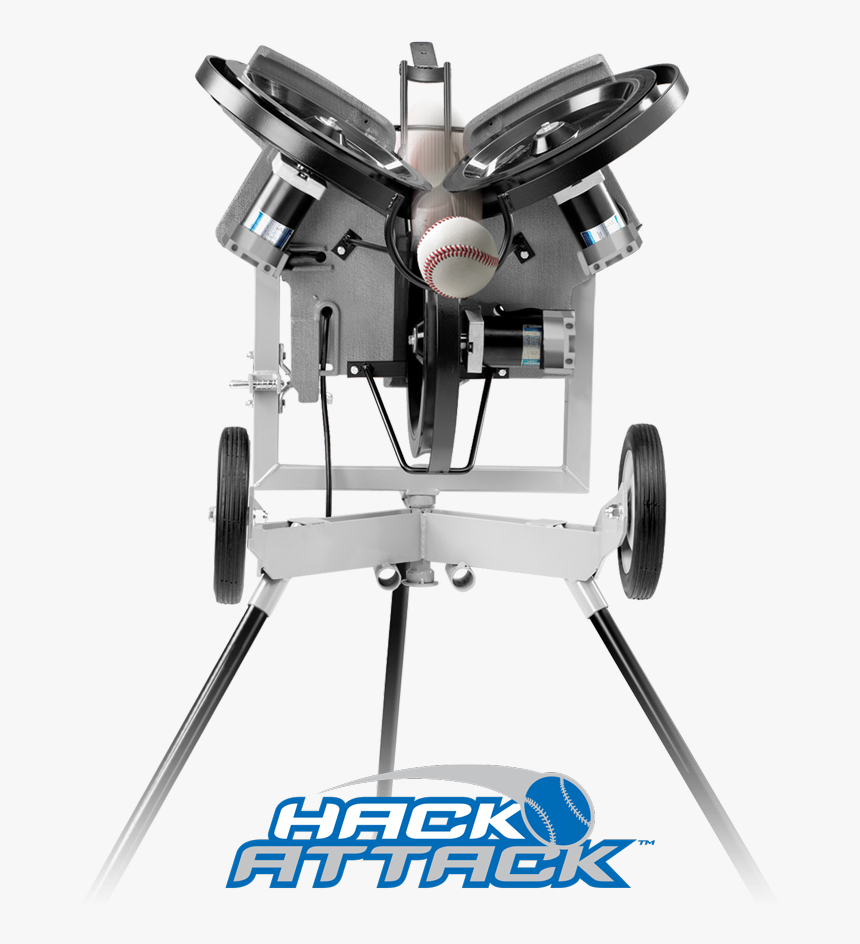 "Hack Attack Baseball Pitching Machine""  Title=""hack - Hack Attack Pitching Machine, HD Png Download, Free Download"