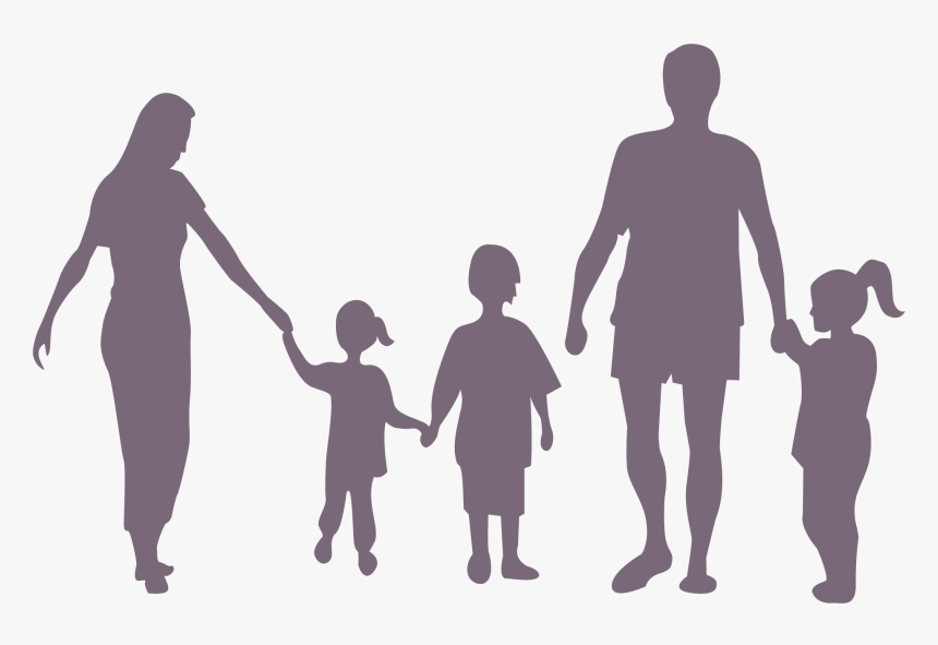 Silhouette Family Child - Singapore Dependent Pass Salary, HD Png Download, Free Download