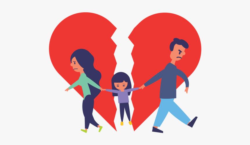 Divorce Cartoon Png, Transparent Png - kindpng