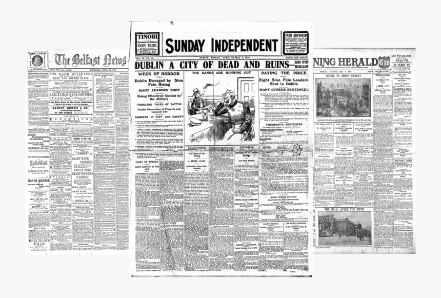 Product - Irish Newspaper Archives, HD Png Download, Free Download