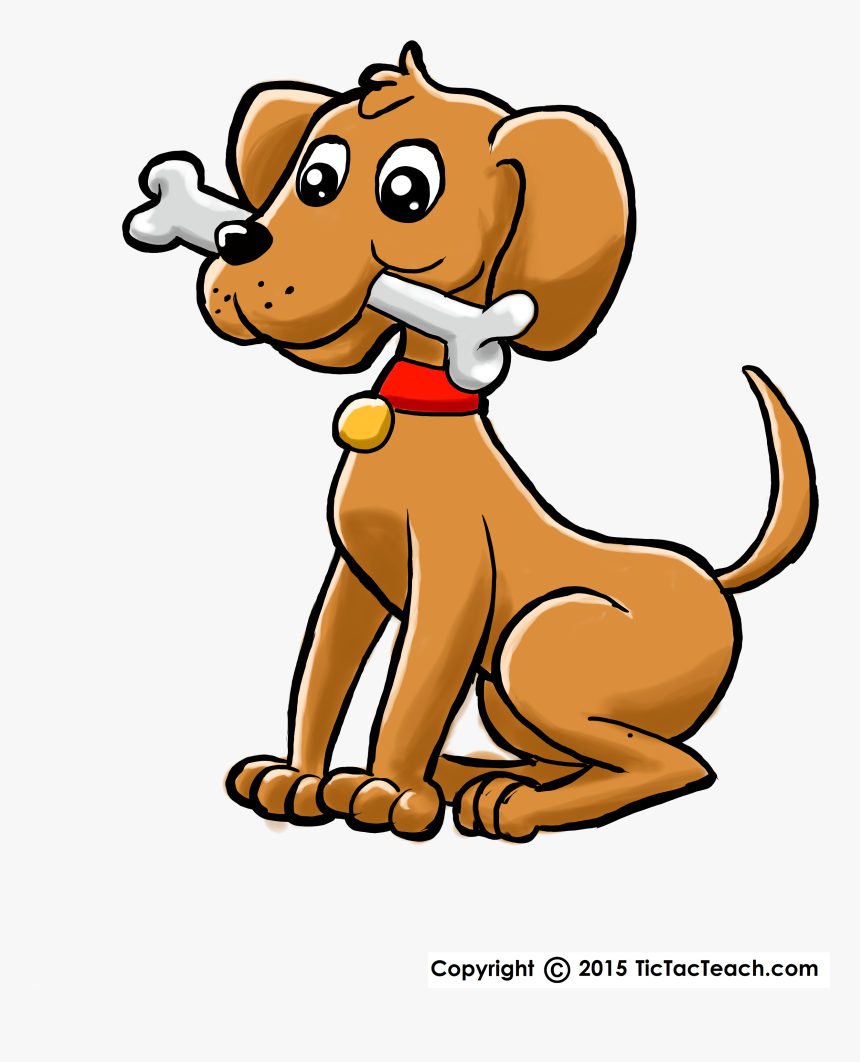 Doggie Wheres Your Bone Cartoon Dog With Bone Hd Png Download Kindpng