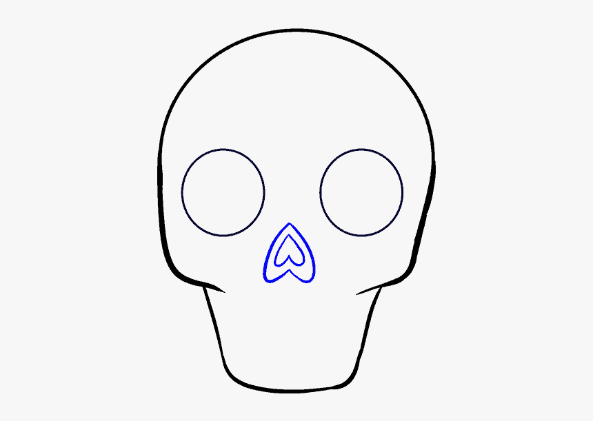 How To Draw Sugar Skull - Drawing, HD Png Download, Free Download