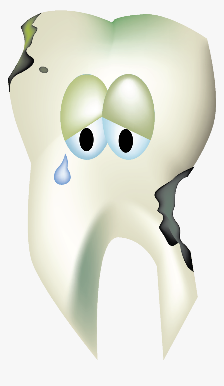Clipart - Clipart Sad Tooth Png, Transparent Png, Free Download