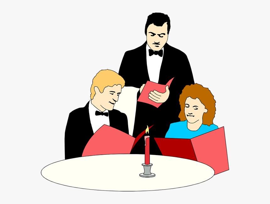 Waitress Clipart Cartoon Restaurant Waiter Clip Art Hd Png Download Kindpng