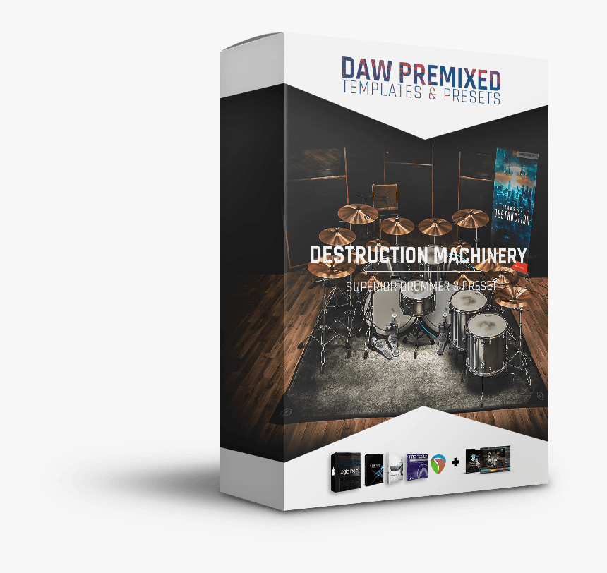 Superior Drummer 3 Death Metal, HD Png Download, Free Download