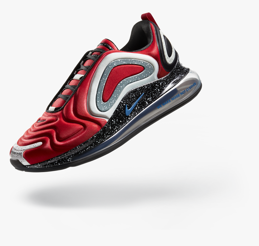 Air Max 720 Undercover Red Hd Png Download Kindpng