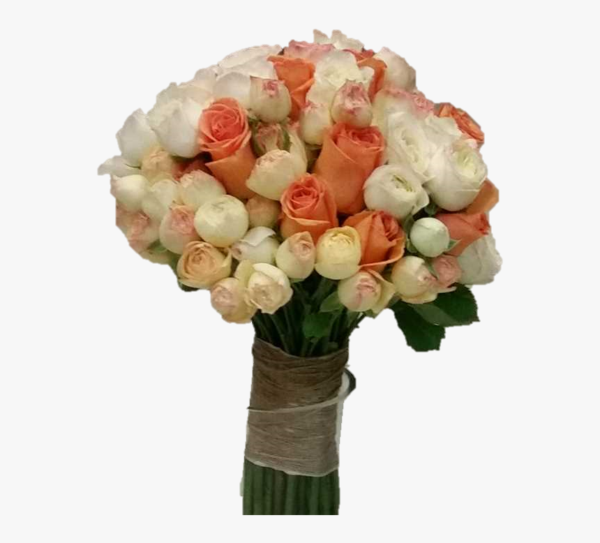 Clustar Roses And Roses Wedding Bouquet - Flower Bouquet, HD Png Download, Free Download