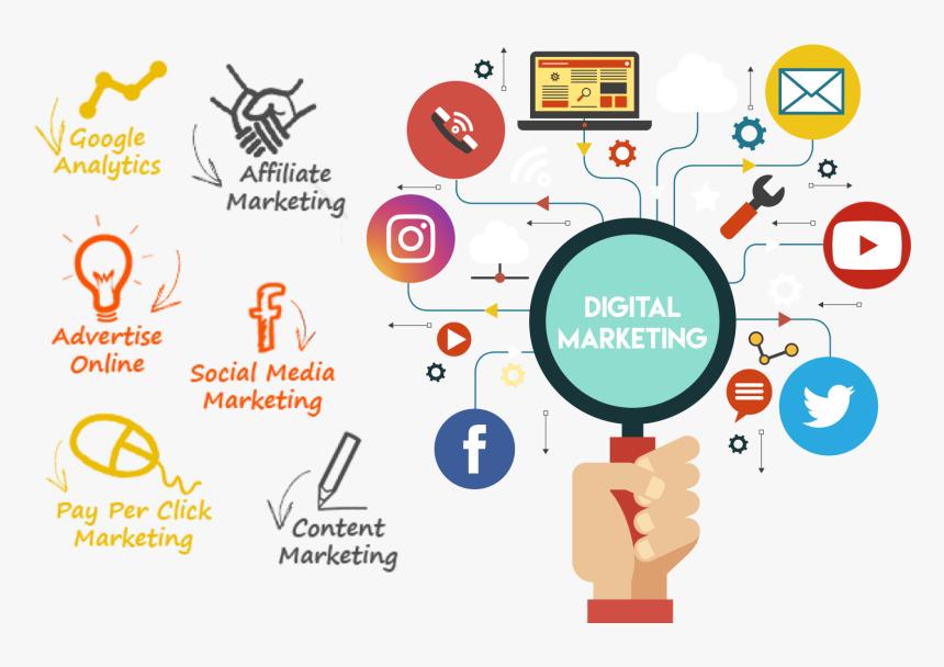 Digital Marketing-img - Seo Grow Your Business, HD Png Download - kindpng