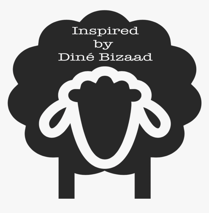 Inspired By Diné Bizaad, Llc - Silhouette Black Sheep Clipart, HD Png Download, Free Download