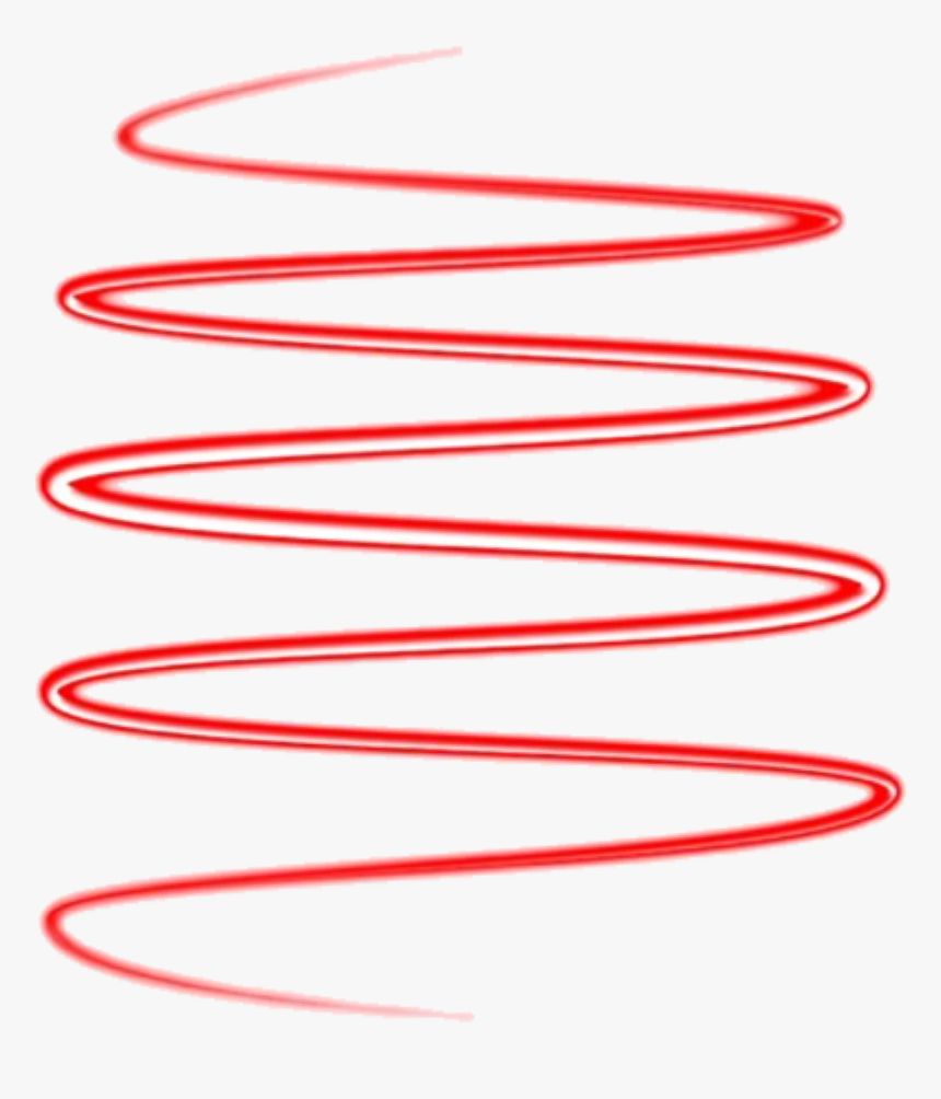 #neon #red #swirl #neonspiral #spiral #neonswirl #line - Light Picsart Editing Png, Transparent Png, Free Download