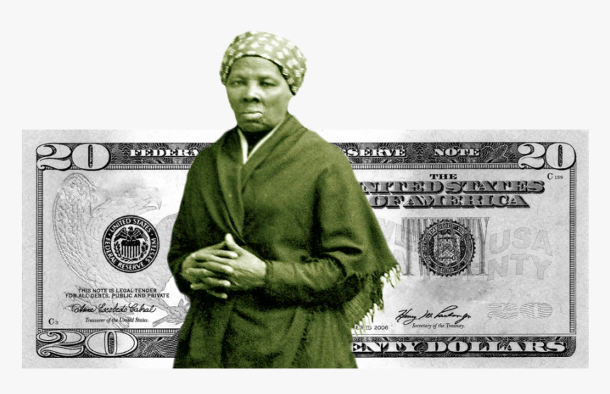 20 Dollar Bill Png - Harriet Tubman Video, Transparent Png, Free Download