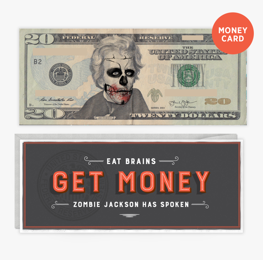 A Transparent Cover With Illustration Transforms A - 20 Dollar Bill Png, Png Download, Free Download