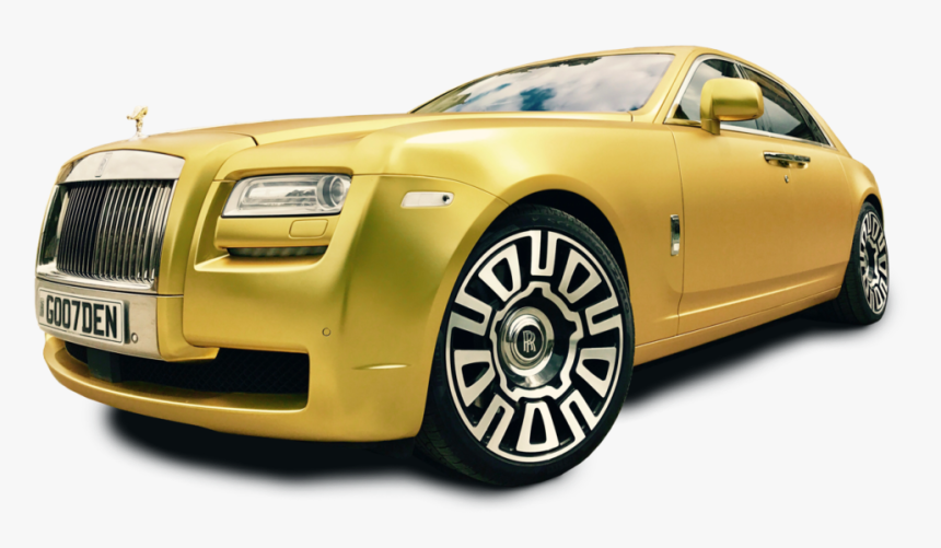Gold Rolls Royce >> Gold Rolls Royce Ghost Hd Png Download Kindpng