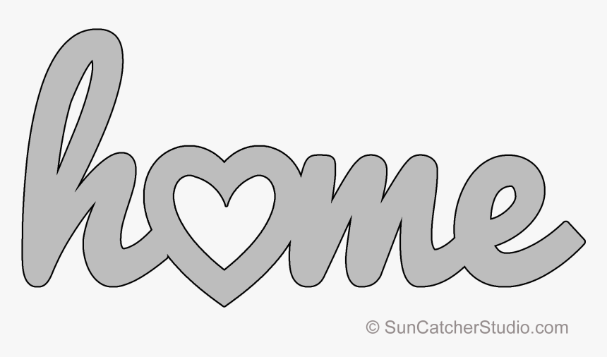 Home Word Clip Art Hd Png Download Kindpng