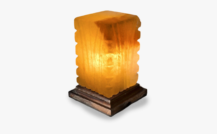 Fancy Square Shape Salt Lamp - Plywood, HD Png Download, Free Download