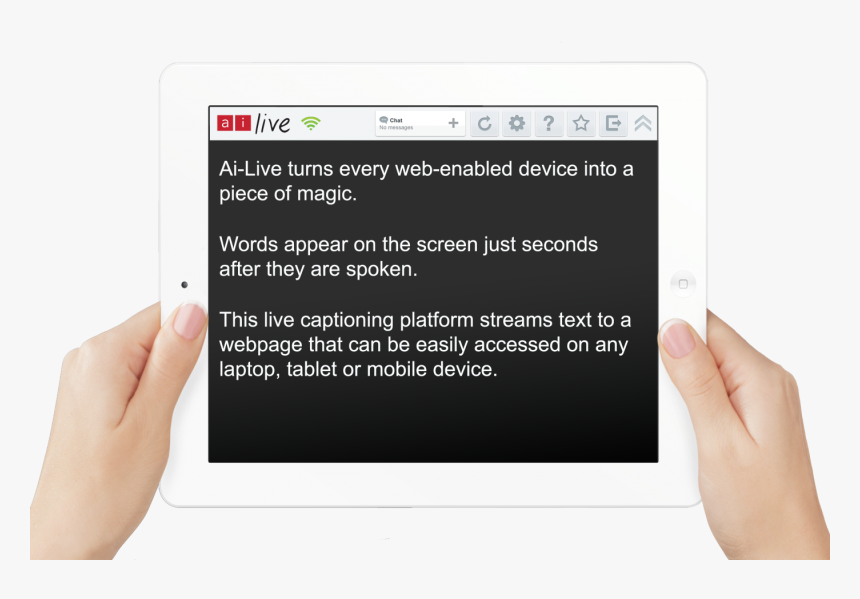 Live Captions, HD Png Download, Free Download