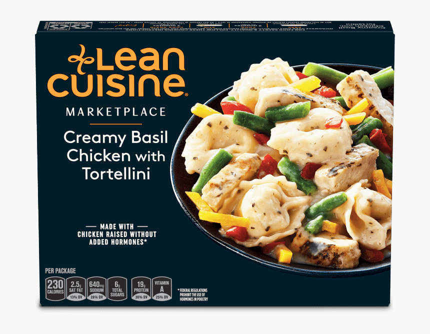 Creamy Basil Chicken With Tortellini Image Lean Cuisine Chicken Parmesan Hd Png Download Kindpng