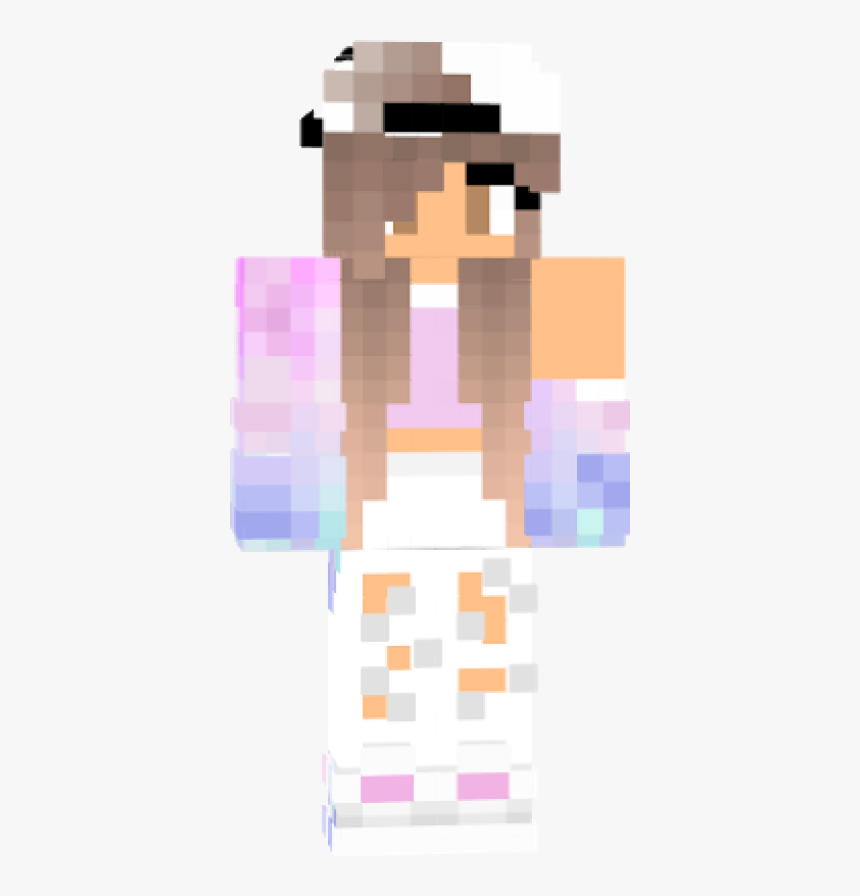 Galaxy Girl Skin For Minecraft, HD Png Download, Free Download