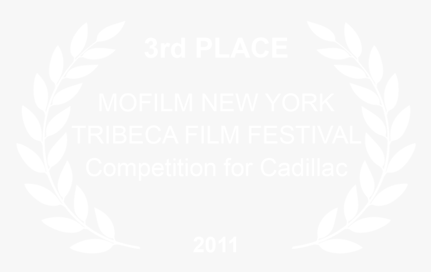 Mofilm Tribeca Cadillac 2011 - Johns Hopkins Logo White, HD Png Download, Free Download