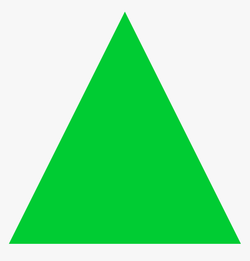 Green Increase Triangle, HD Png Download, Free Download