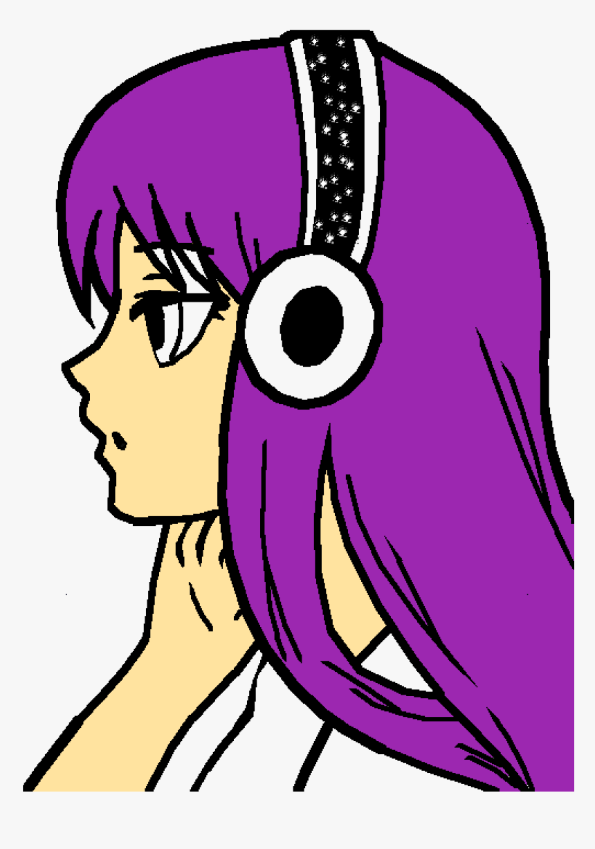 Transparent Omg Face Png - Girl Who Loves Music, Png Download, Free Download