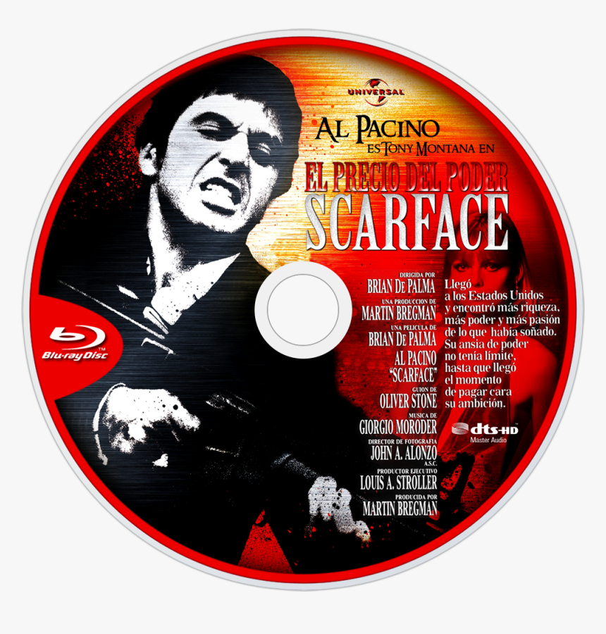 Scarface Blu Ray, HD Png Download, Free Download