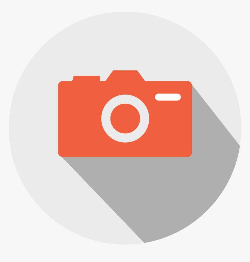 Camera Icon - Circle, HD Png Download, Free Download